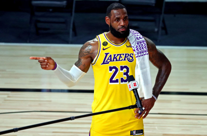 LeBron James, Los Angeles Lakers. (Mandatory Credit: Kim Klement-USA TODAY Sports)