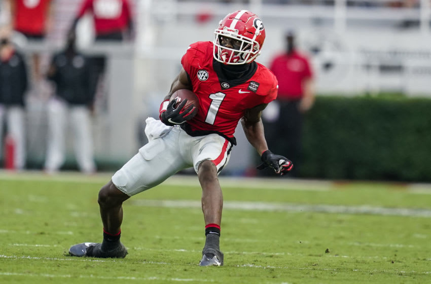 George Pickens, Georgia Bulldogs. (Mandatory Credit: Dale Zanine-USA TODAY Sports)