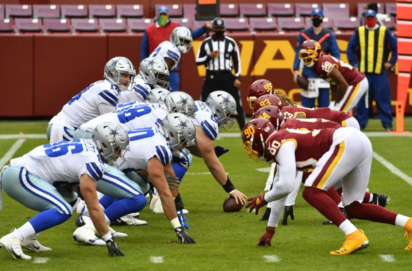 Dallas Cowboys, Washington Football Team. (Mandatory Credit: Brad Mills-USA TODAY Sports)