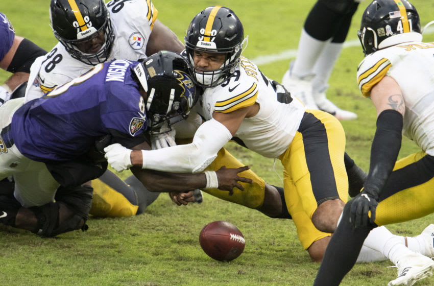 Baltimore Ravens, Pittsburgh Steelers. (Mandatory Credit: Tommy Gilligan-USA TODAY Sports)