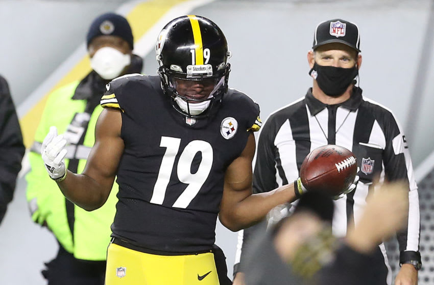 JuJu Smith-Schuster, Pittsburgh Steelers. (Mandatory Credit: Charles LeClaire-USA TODAY Sports)