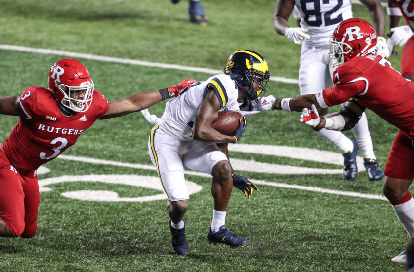 Michigan Wolverines, Rutgers Scarlet Knights. (Mandatory Credit: Vincent Carchietta-USA TODAY Sports)