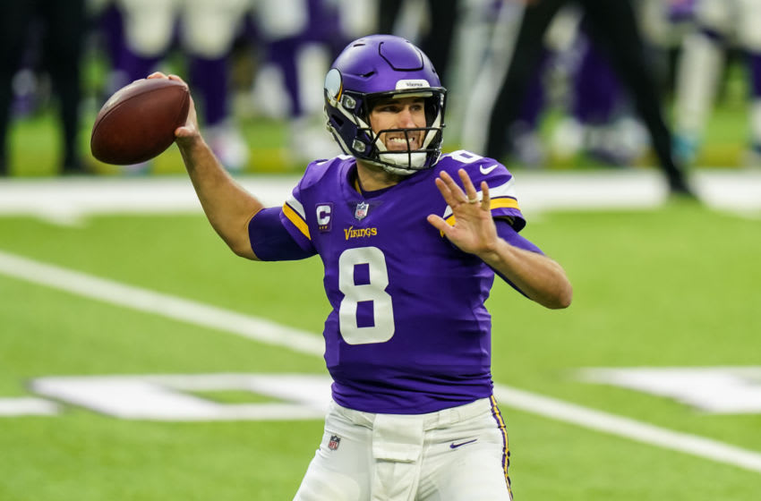 Kirk Cousins, Minnesota Vikings. (Mandatory Credit: Brace Hemmelgarn-USA TODAY Sports)
