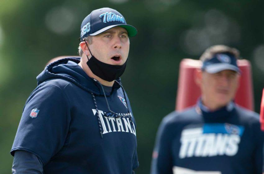Arthur Smith, Tennessee Titans. (USA Today)
