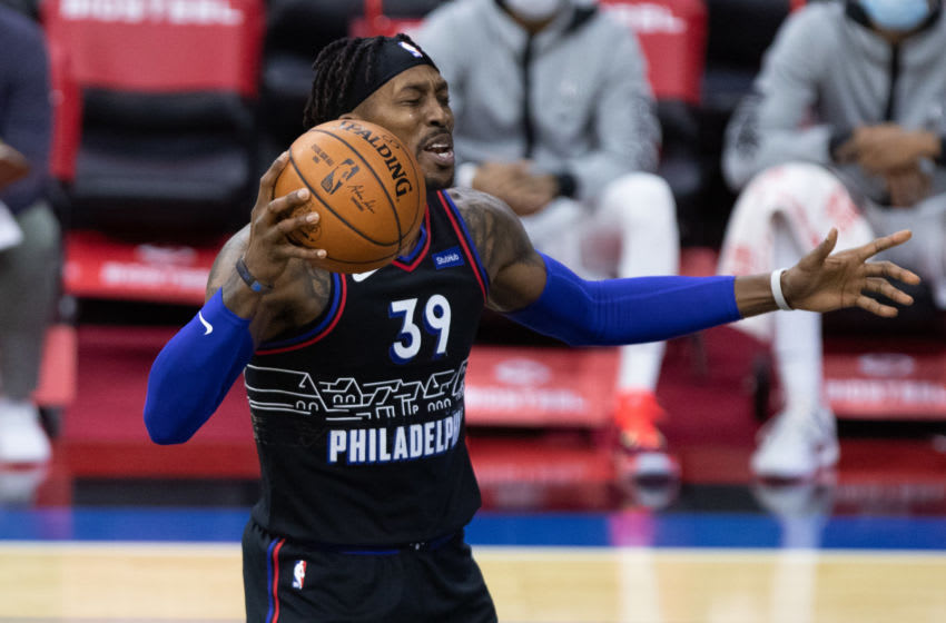Dwight Howard, Philadelphia 76ers. (Mandatory Credit: Bill Streicher-USA TODAY Sports)