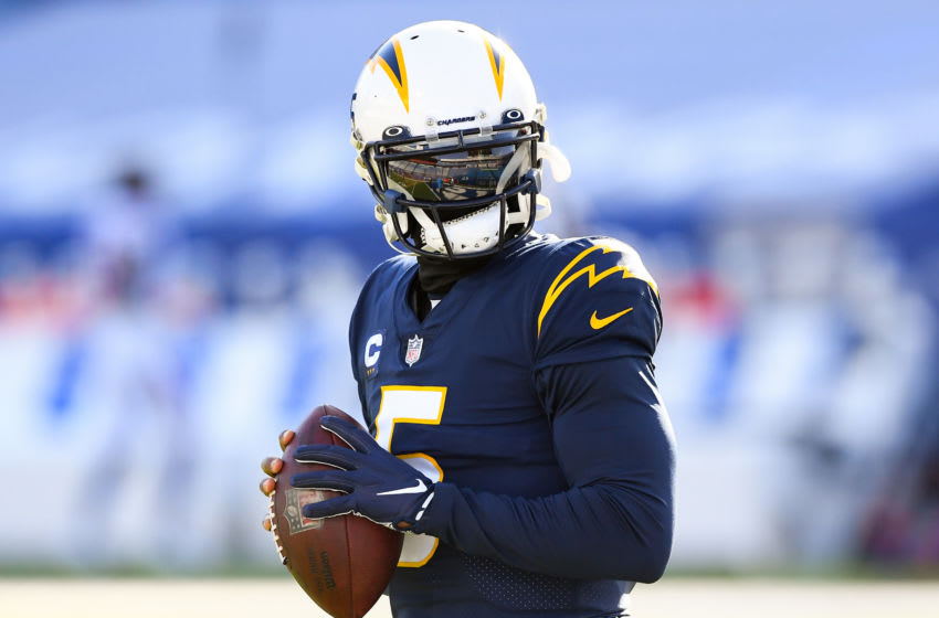 Former Chargers quarterback Tyrod Taylor would make a great backup for the Cowboys. Mandatory Credit: Rich Barnes-USA TODAY Sports