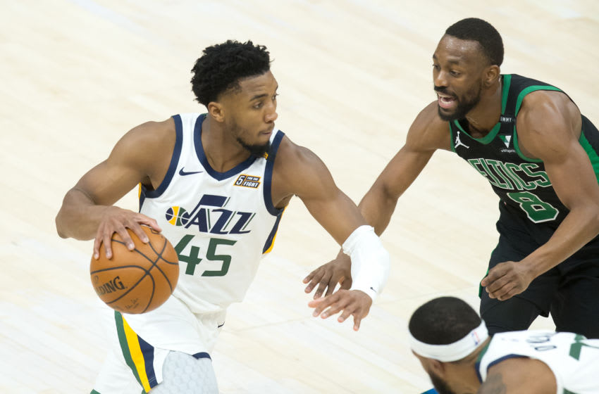 Donovan Mitchell, Utah Jazz. (Mandatory Credit: Russell Isabella-USA TODAY Sports)