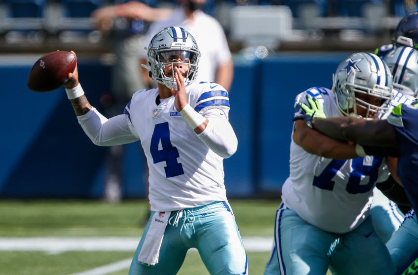 Dak Prescott, Dallas Cowboys. (Mandatory Credit: Joe Nicholson-USA TODAY Sports)