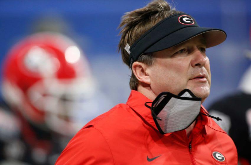 Kirby Smart, Georgia Bulldogs. (Photo/Joshua L. Jones, Athens Banner-Herald)