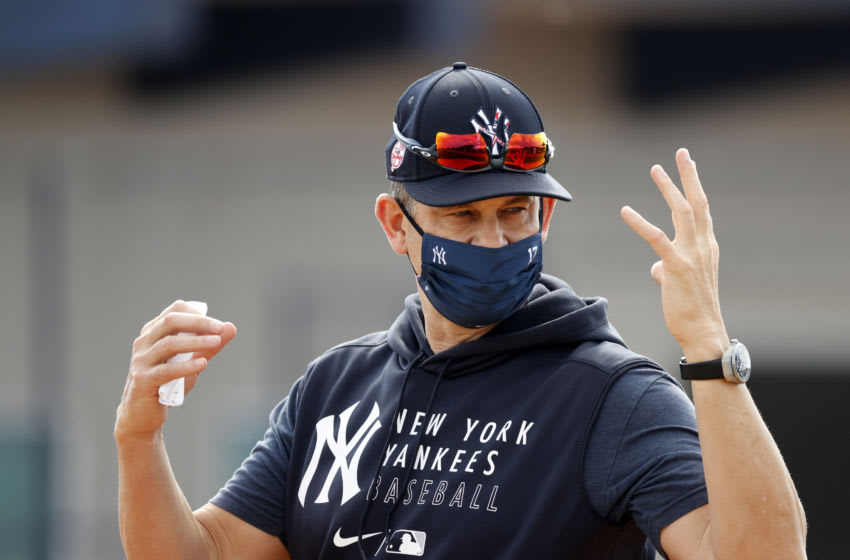 Aaron Boone, New York Yankees. (Mandatory Credit: Kim Klement-USA TODAY Sports)