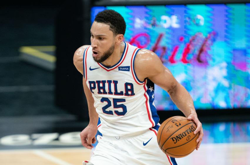 Ben Simmons, Philadelphia 76ers. (Mandatory Credit: Kyle Terada-USA TODAY Sports)