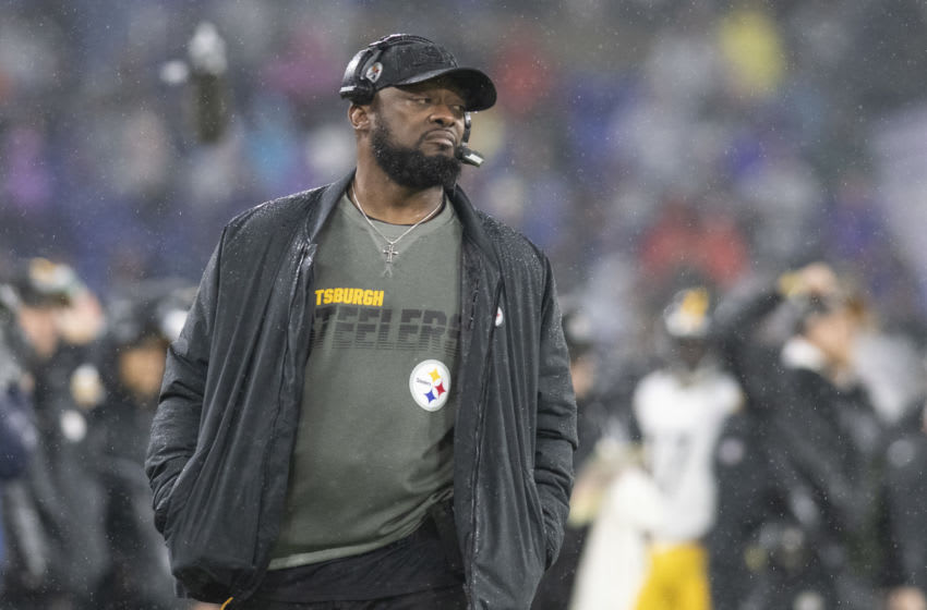 Mike Tomlin, Pittsburgh Steelers. (Mandatory Credit: Tommy Gilligan-USA TODAY Sports)