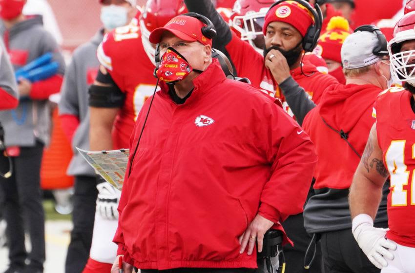 Andy Reid, Kansas City Chiefs. (Mandatory Credit: Denny Medley-USA TODAY Sports)