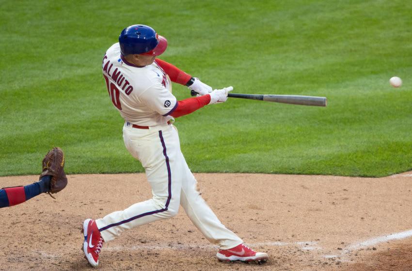 J.T. Realmuto, Philadelphia Phillies. (Mandatory Credit: Bill Streicher-USA TODAY Sports)