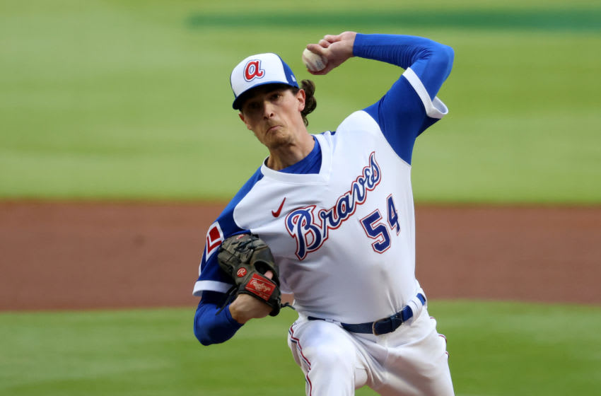 Max Fried, Atlanta Braves. (Mandatory Credit: Jason Getz-USA TODAY Sports)