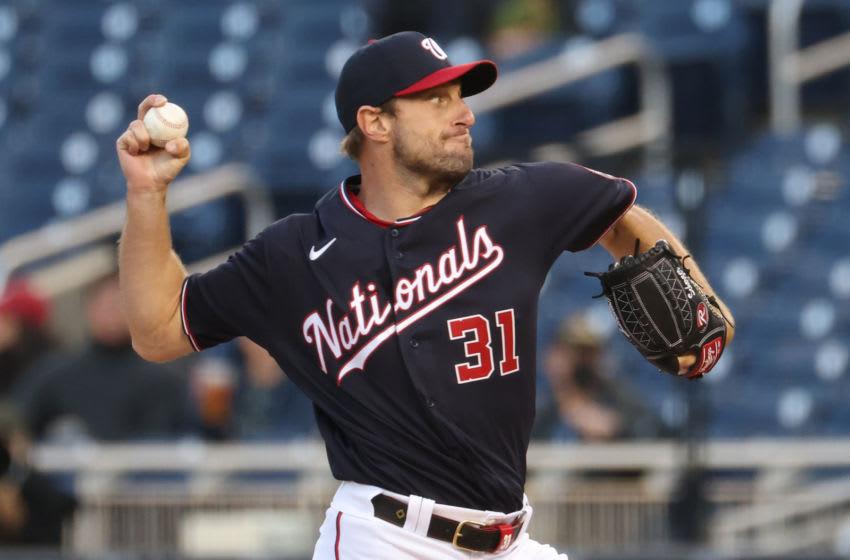 Max Scherzer, Washington Nationals. (Mandatory Credit: Geoff Burke-USA TODAY Sports)