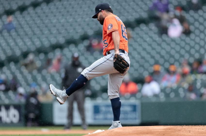 Astros pitcher Jose Urquidy. Mandatory Credit: Isaiah J. Downing-USA TODAY Sports