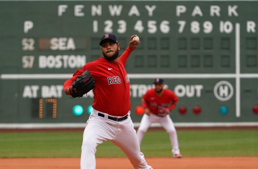 Red Sox pitcher Eduardo Rodriguez. Mandatory Credit: David Butler II-USA TODAY Sports