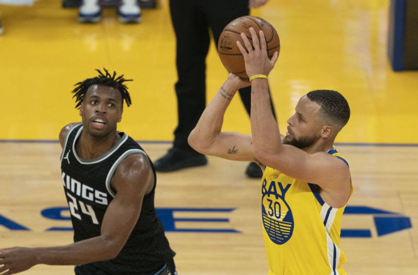 Warriors guard Stephen Curry. Mandatory Credit: Kyle Terada-USA TODAY Sports