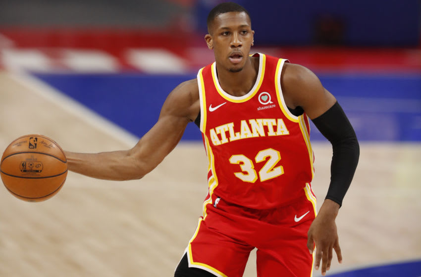 Hawks guard Kris Dunn. Credit: Raj Mehta-USA TODAY Sports