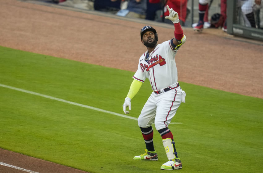 Marcell Ozuna, Atlanta Braves. (Mandatory Credit: Dale Zanine-USA TODAY Sports)