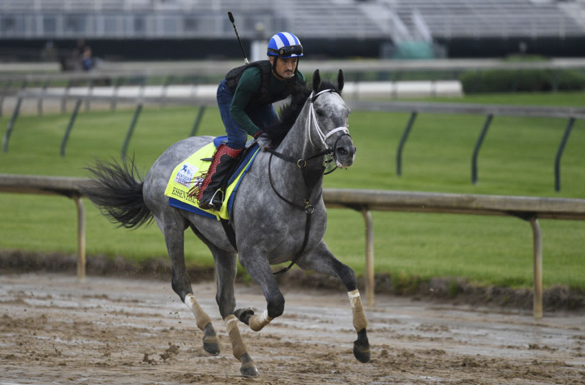 Kentucky Derby favorite Essential Quality. Credit: Jamie Rhodes-USA TODAY Sports