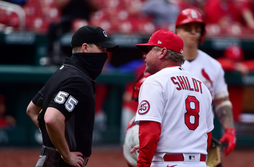 Cardinals manager Mike Shildt. Credit: Jeff Curry-USA TODAY Sports