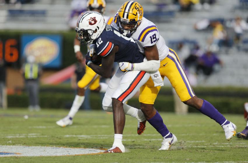 LSU linebacker Jabril Cox. (John Reed-USA TODAY Sports)