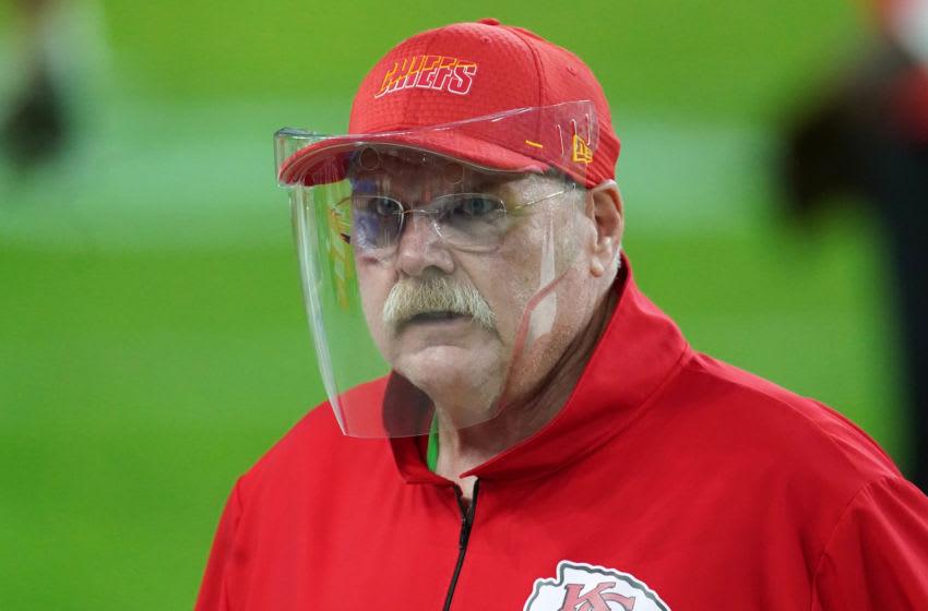 Chiefs coach Andy Reid. (Kirby Lee-USA TODAY Sports)