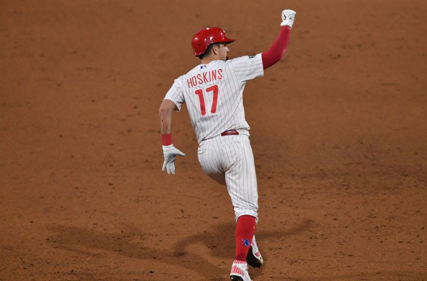 Rhys Hoskins, Philadelphia Phillies. (Mandatory Credit: Kyle Ross-USA TODAY Sports)