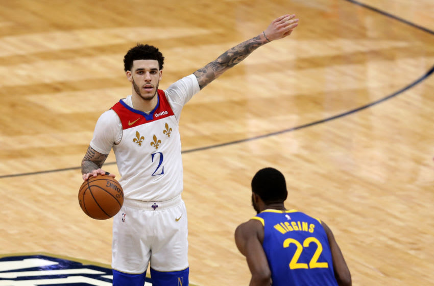 Lonzo Ball, New Orleans Pelicans. (Mandatory Credit: Chuck Cook-USA TODAY Sports)
