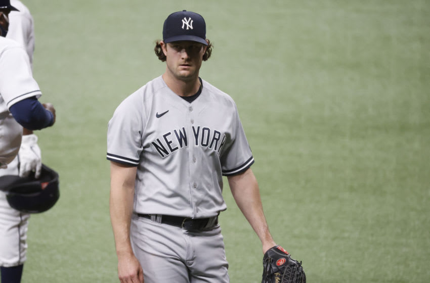 Yankees pitcher Gerrit Cole. (Kim Klement-USA TODAY Sports)