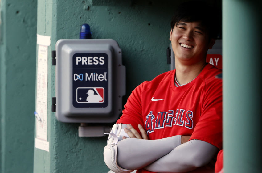 Angels star Shohei Ohtani. (Winslow Townson-USA TODAY Sports)