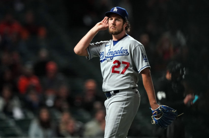 Trevor Bauer, Los Angeles Dodgers. (Mandatory Credit: Darren Yamashita-USA TODAY Sports)