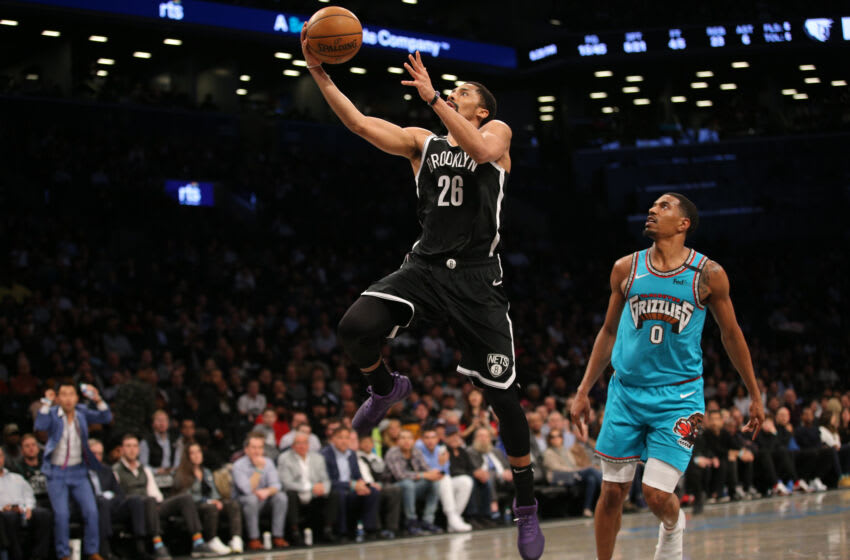 Nets guard Spencer Dinwiddie. (Brad Penner-USA TODAY Sports)