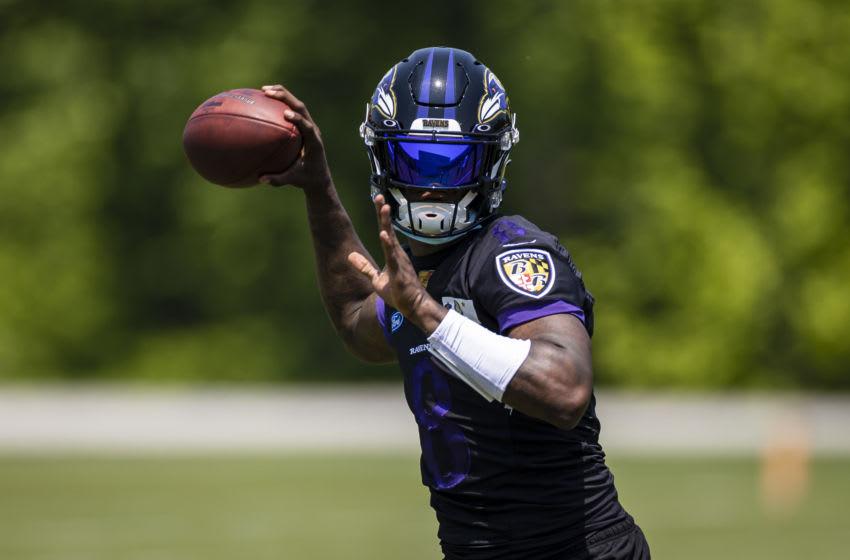 Lamar Jackson, Baltimore Ravens. (Mandatory Credit: Scott Taetsch-USA TODAY Sports)