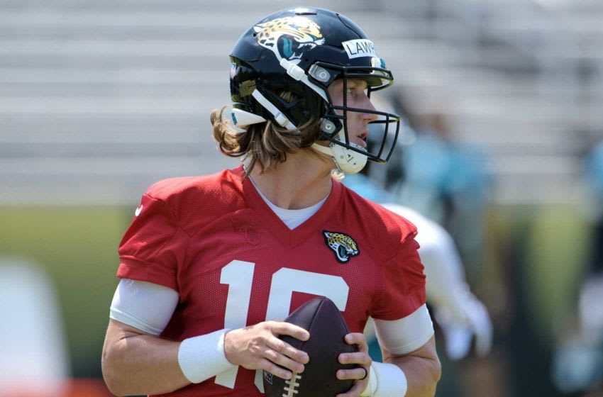 Trevor Lawrence, Jacksonville Jaguars. [Bob Self/Florida Times-Union]