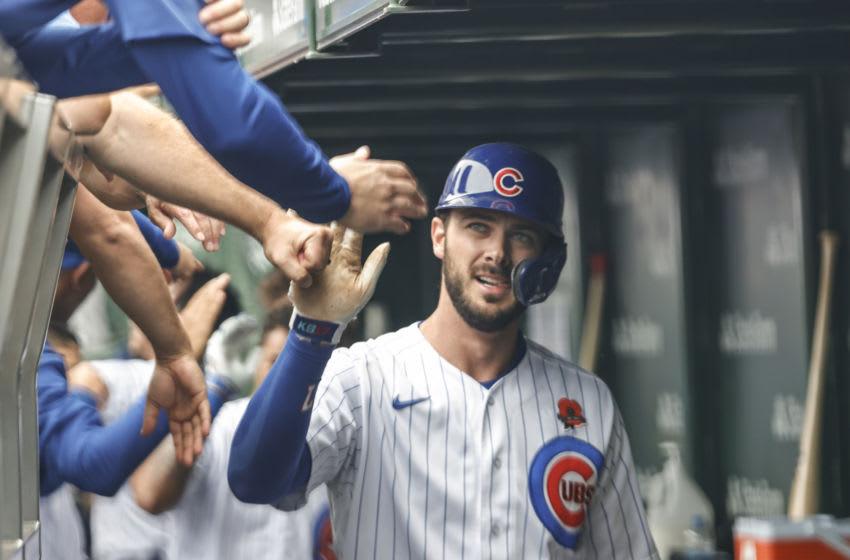 Kris Bryant, Chicago Cubs. (Mandatory Credit: Kamil Krzaczynski-USA TODAY Sports)