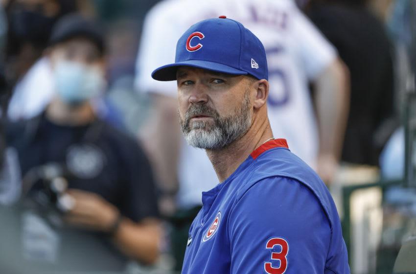 David Ross, Chicago Cubs. (Mandatory Credit: Kamil Krzaczynski-USA TODAY Sports)