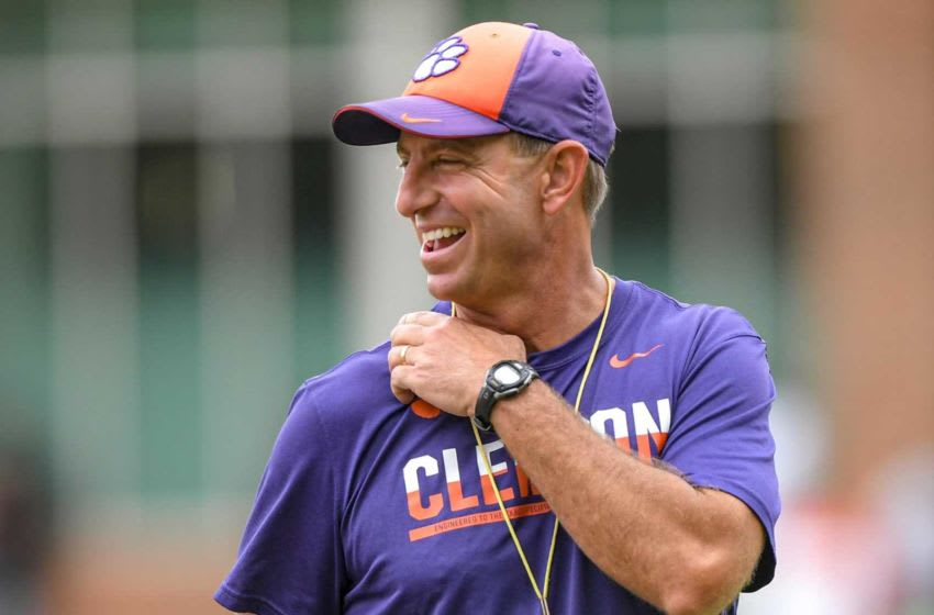 Dabo Swinney, Clemson Tigers. (USA Today)
