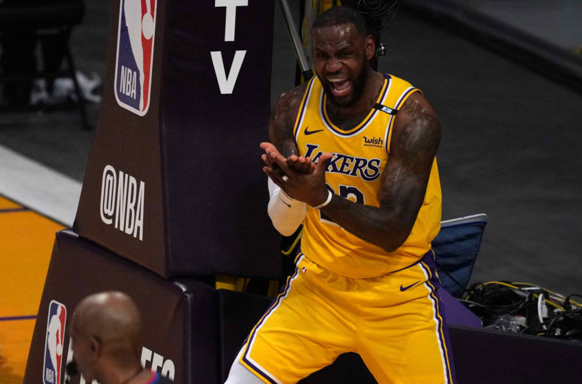 LeBron James, Los Angeles Lakers. (Mandatory Credit: Kirby Lee-USA TODAY Sports)