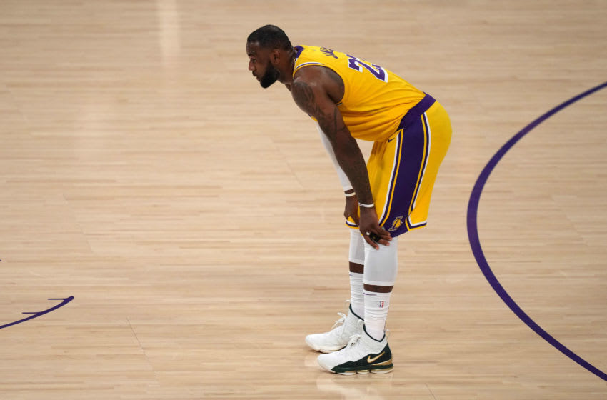 Lakers star LeBron James. (Kirby Lee-USA TODAY Sports)