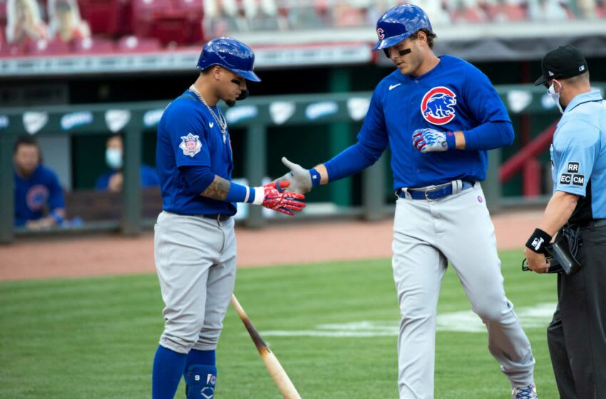 Anthony Rizzo, Javy Baez, Chicago Cubs. (USA Today)