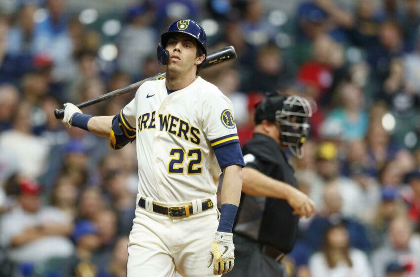 Brewers outfielder Christian Yelich. (Jeff Hanisch-USA TODAY Sports)