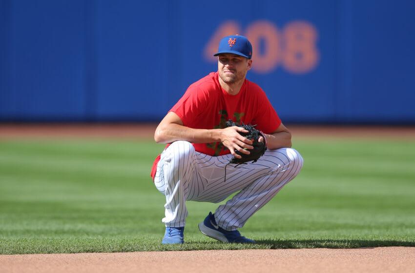 New York Mets starting pitcher Jacob deGrom. Mandatory Credit: Brad Penner-USA TODAY Sports