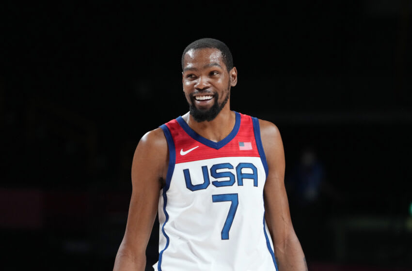 Team USA's all-time scoring leader Kevin Durant. (Kyle Terada-USA TODAY Sports)