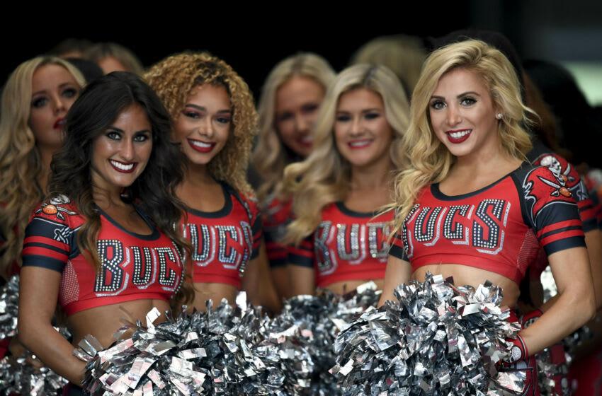 Buccaneers cheerleaders. (Douglas DeFelice-USA TODAY Sports)