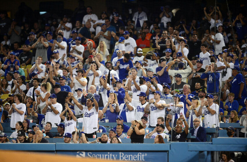 Los Angeles Dodgers fans. (Gary A. Vasquez-USA TODAY Sports)