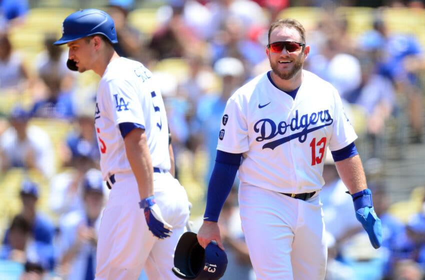 Dodgers first baseman Max Muncy. (Gary A. Vasquez-USA TODAY Sports)