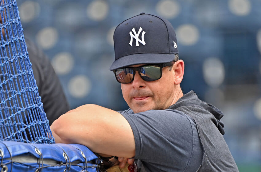 Yankees manager Aaron Boone. (Peter Aiken-USA TODAY Sports)